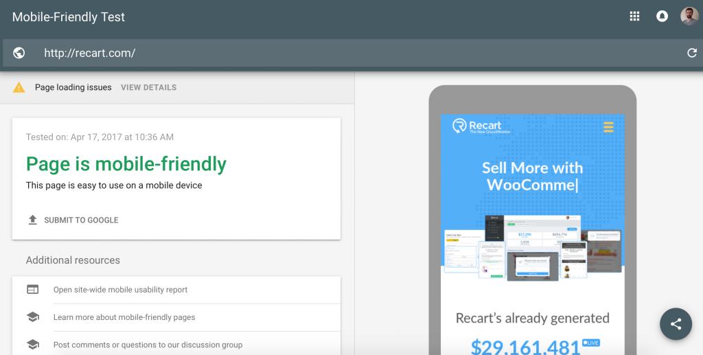 Mobile optimisation in eCommerce