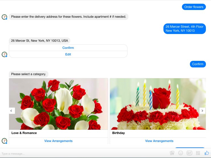 Facebook Messenger for eCom stores
