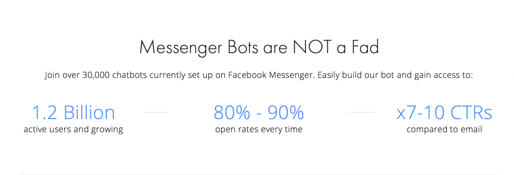 Messenger engagement stats vs email