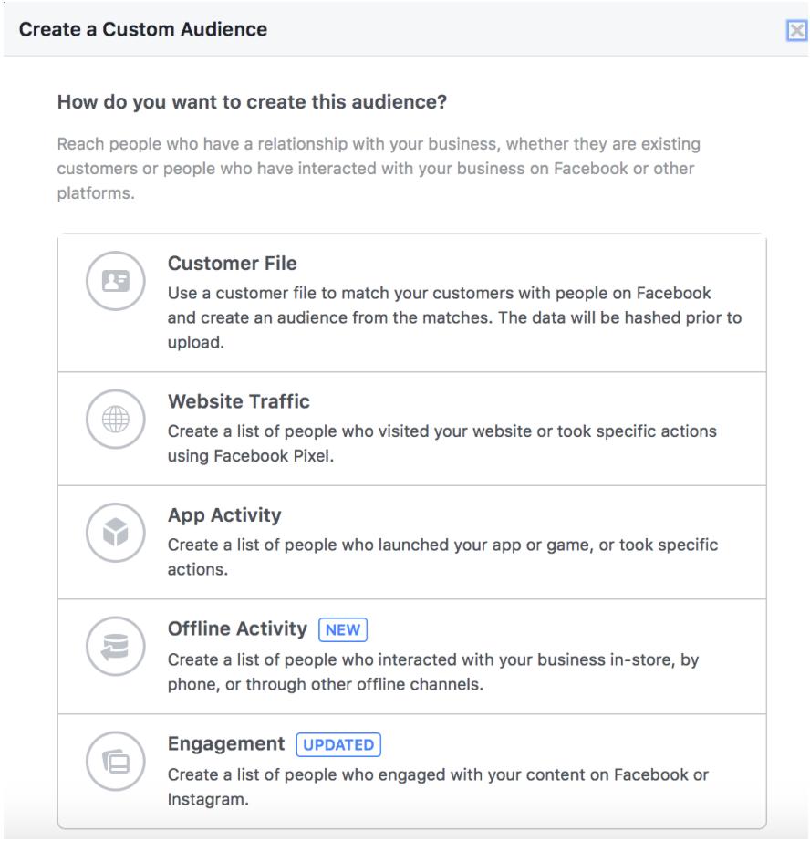 Black friday remarking Facebook ads
