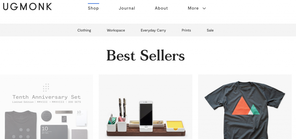 Shopify store design for ecommerce