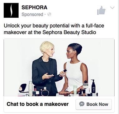Messenger marketing ads