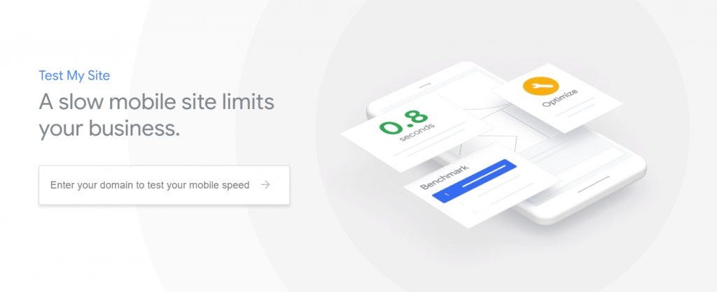 An image from Google's Test My Site that claims that a slow mobile site limits your business.